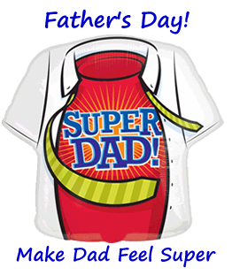 Father's Day Balloons By Post