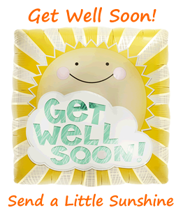 Get Well Soon Balloons By Post