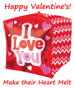 Valentine's Day Balloons By Post